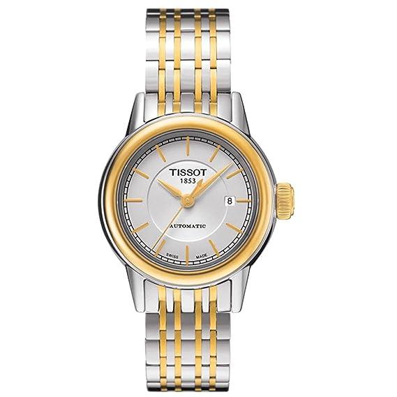 Tissot Carson Matic T085.207.22.011.00 Reloj Automático para Mujeres: Amazon.es: Relojes