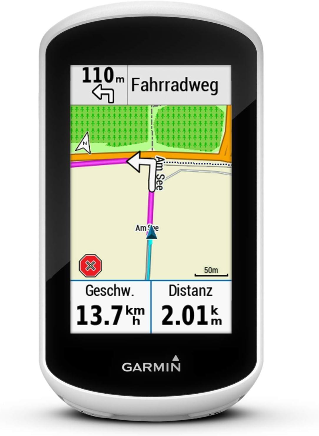 Garmin Edge Explore Navegador GPS para Bicicleta - Mapas de Europa preinstalados, Funciones de navegación, Pantalla táctil de 3