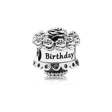 Amazon Pandora Womens 791289 Happy Birthday Charm Jewelry