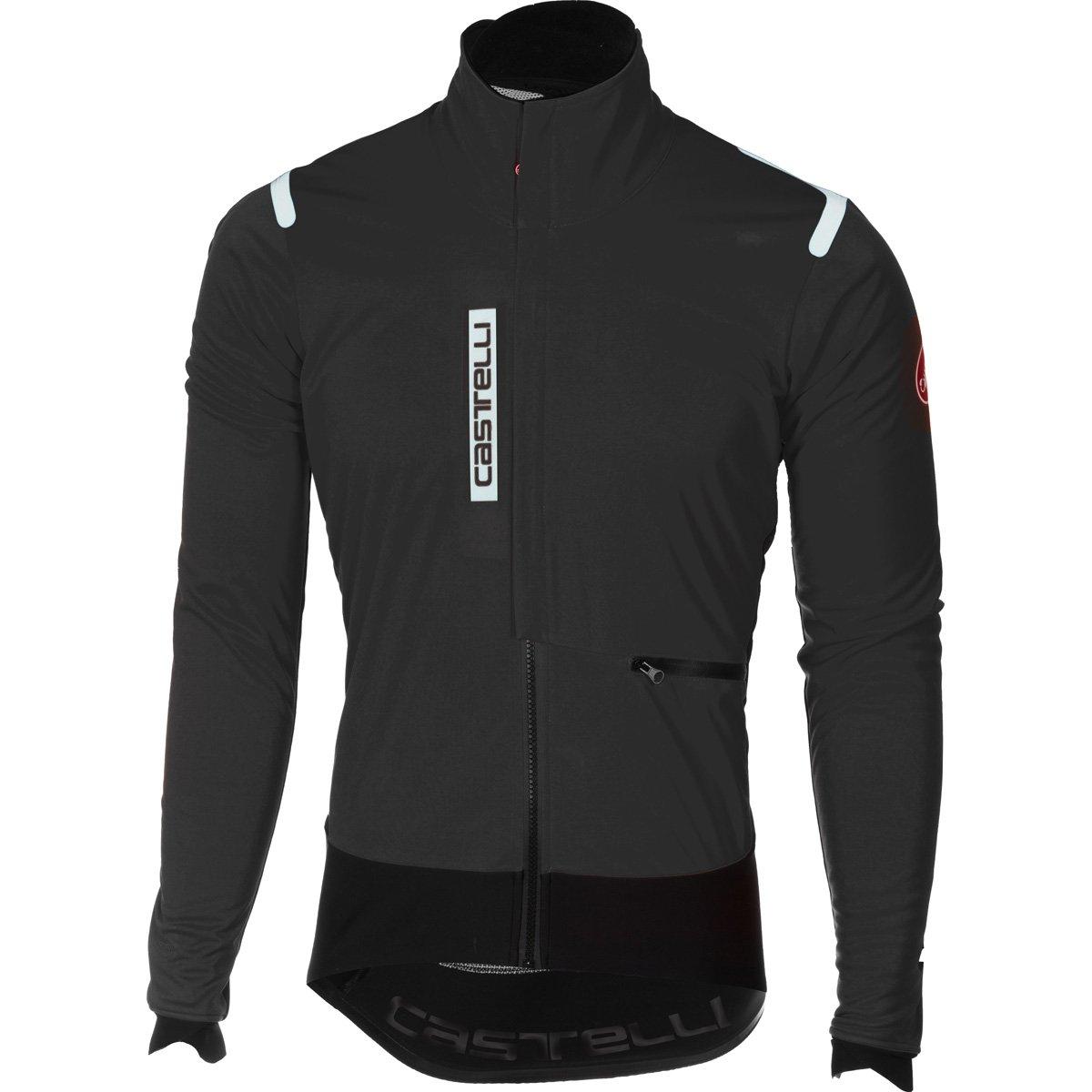 Castelli 2017 / 18 Men 'sアルファRosサイクリングジャケット – b17502 B075ZRHCPJ Medium|light black/black light black/black Medium