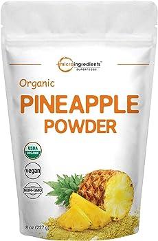 Micro Ingredients 8 Ounce Organic Pineapple Juice Powder