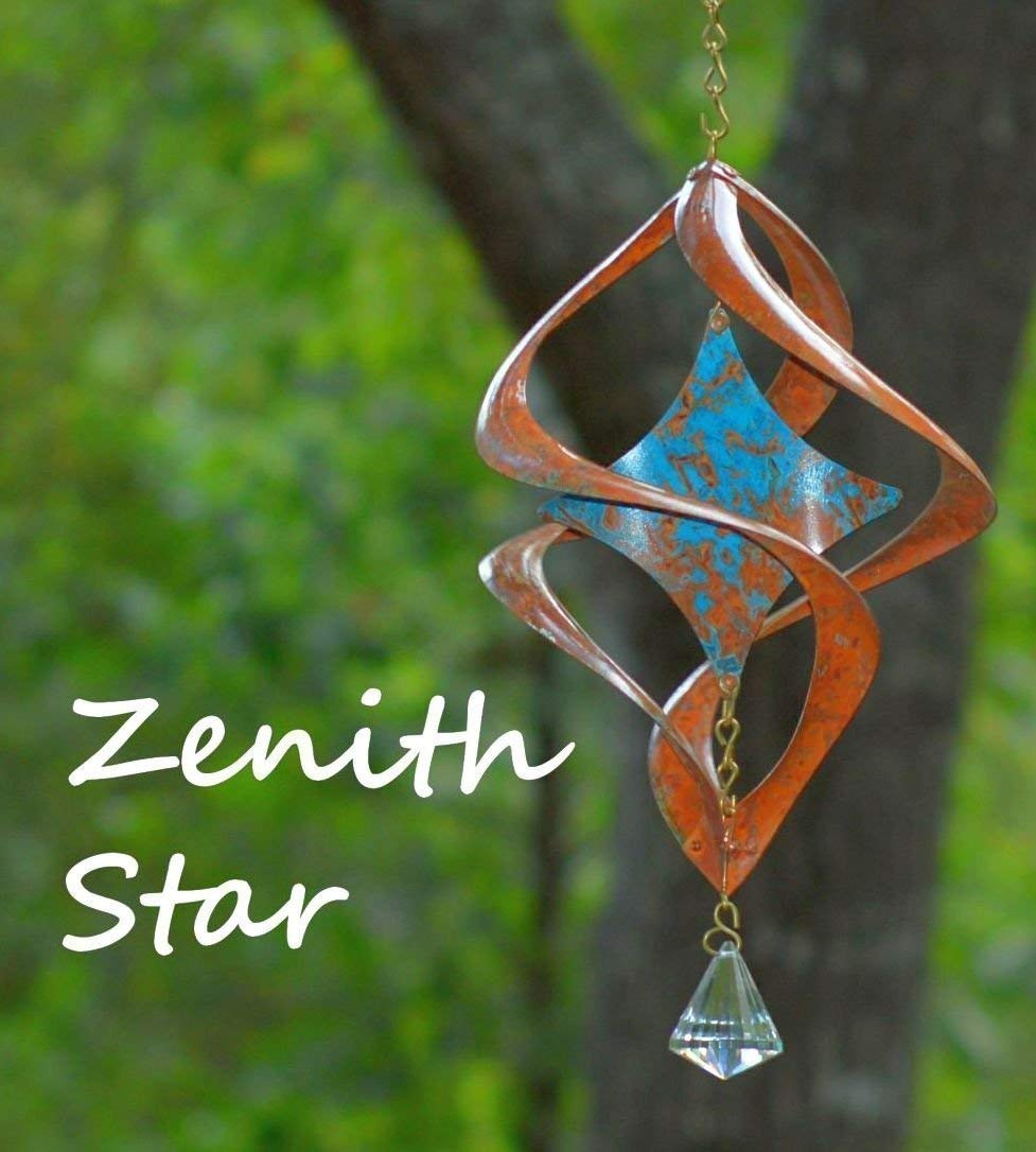 BreezeWay Star Copper Wind Spinner | Handcrafted