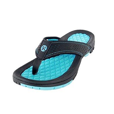Kaiback Women s Lakeside Sport Flip Flop Sandal (6 e6bdd9856