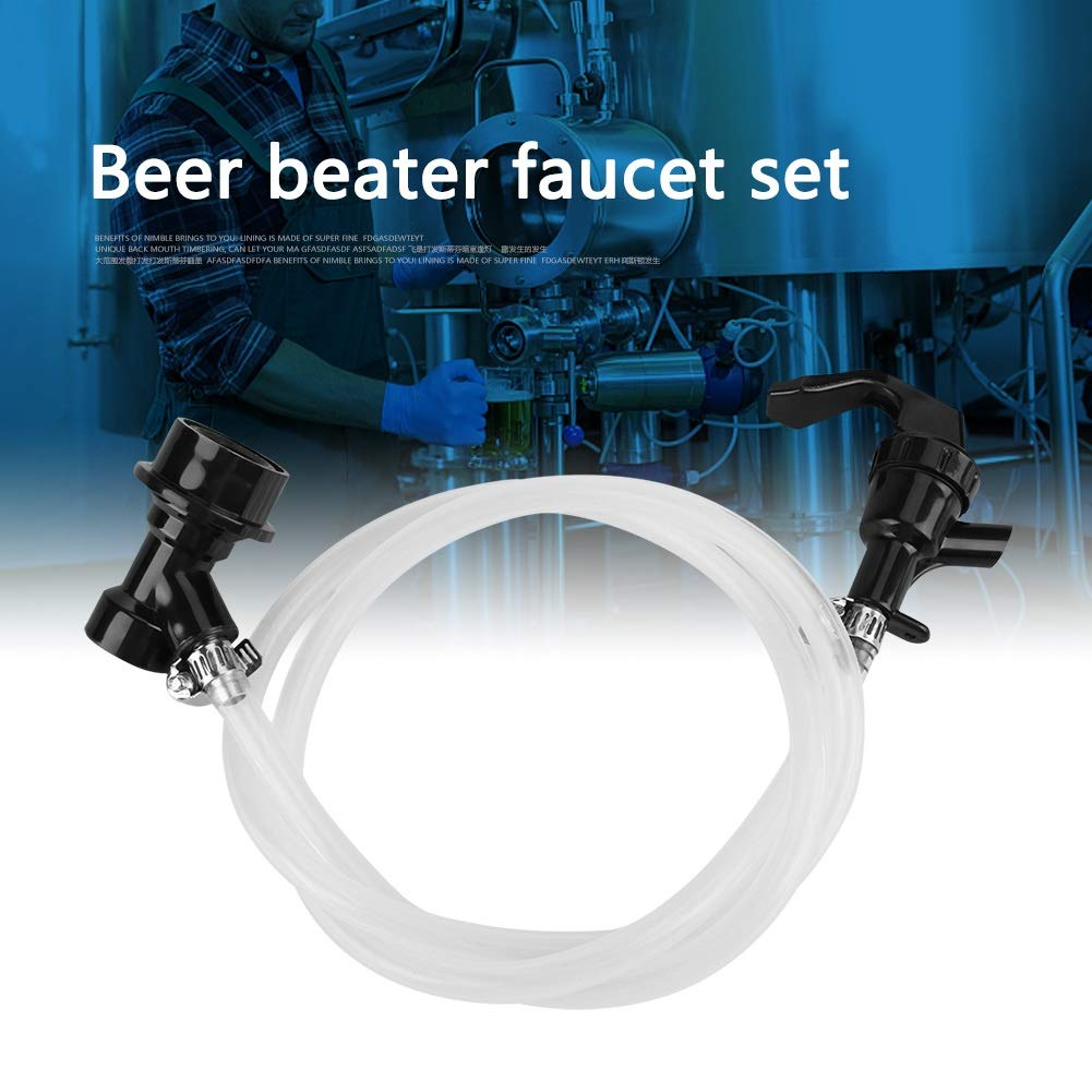 Beer Line with Party Picnic Tap and Ball Lock Disconnect for Beer Keg Size : 100 cm
