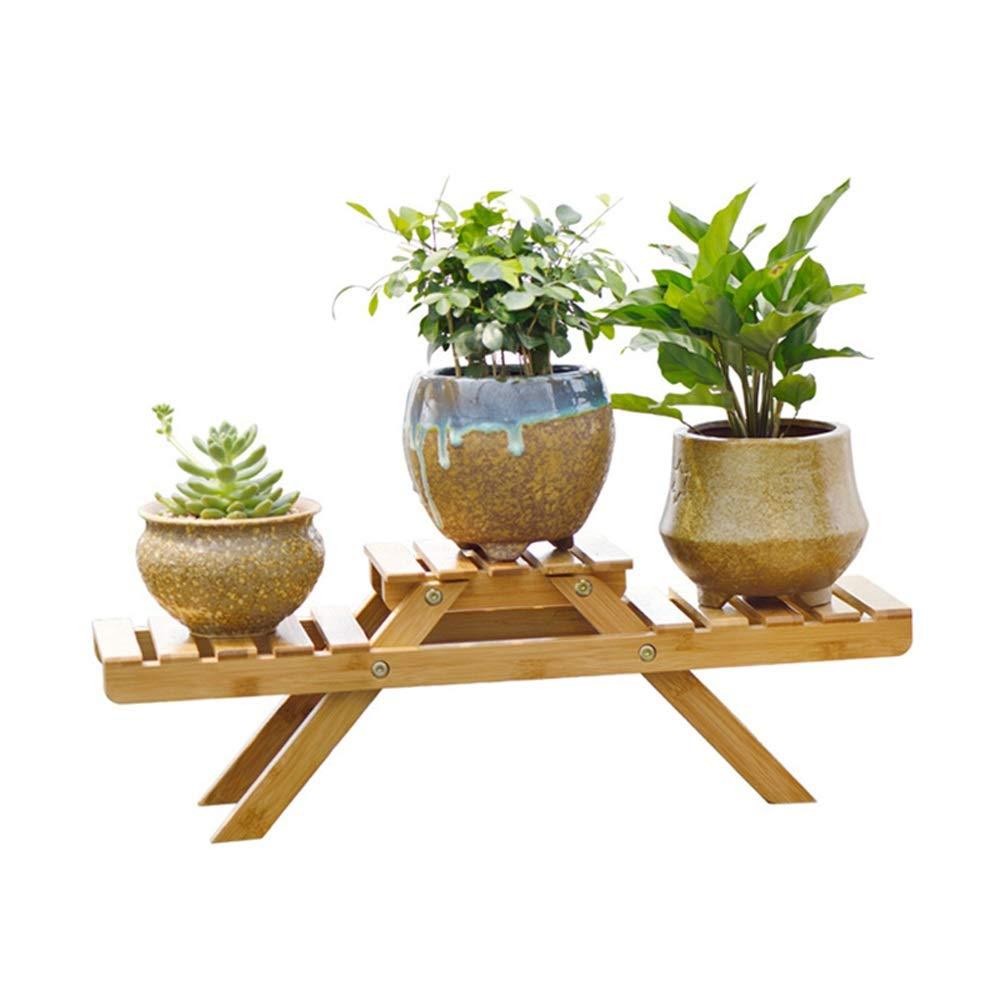 design semplice e generoso T-99581 Tritow Tritow Tritow Nuovi scaffali per Piante Flower Garden Rack Stand Espositore per Fiori Espositore in bambù Supporto per scaffali in Legno  più preferenziale