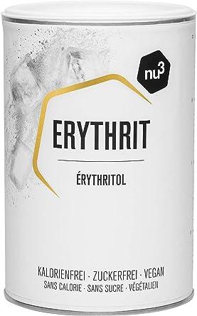 nu3 Eritritol Premium - Sustituto de azúcar polivalente - 750 g de enducolorantze erythrit sin calorías - Sin impacto sobre el índice de glicemia - ...