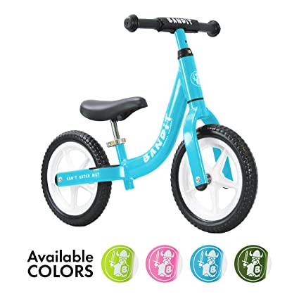 49e2a6f9081 Bandit Bicycles Balance Bike for Kids - Super Light - Never Flat Tires -  California Based