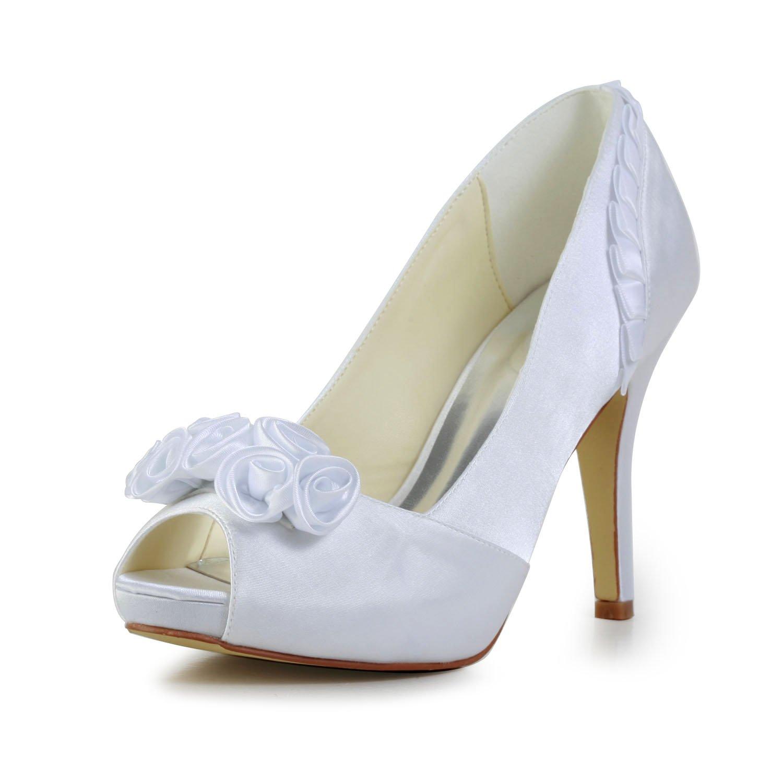 JIA JIA B071XVM7WF Chaussures de Mariée en Pour Satin Femme 37028 Peep Toe Talon Aiguille Pompes à Plateforme en Satin Strass Chaussures de Mariage Blanc 96d1740 - latesttechnology.space