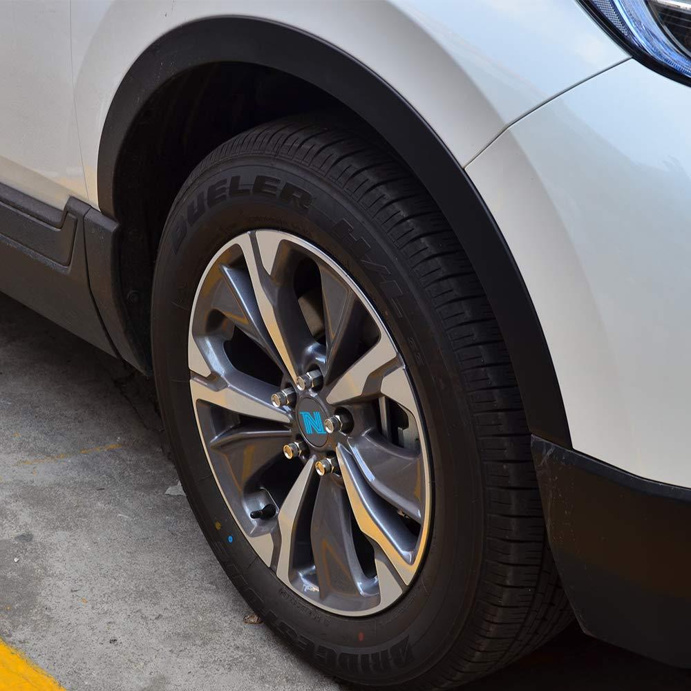 Nicecnc 20PCS 12x1.25MM T304 Stainless Steel Anti-Rust,Corrosion Wheel Lug Nuts & Tool Replace Subaru Infiniti G35/37 Q50/60/70 BRZ Impreza Forester,Nissan 370Z GTR Rouge Teana Sylphy Altima 370Z 350Z by NICECNC (Image #6)