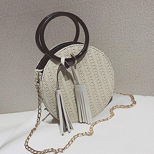 UNYU Beige beige crossbody bag femme Unique Taille portés épaule Sacs wxvpqBwT