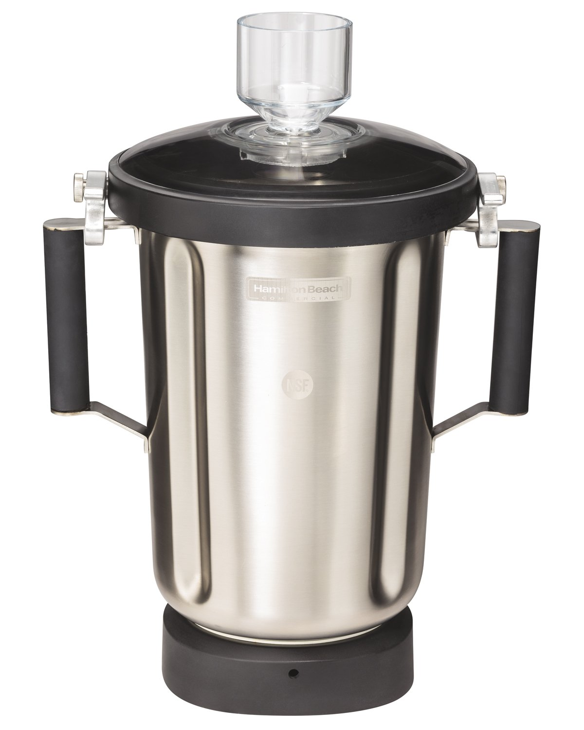 Hamilton Beach Commercial 6126-1100S HBF1100S 1 gal/4 L Container, 6'' L, 7.5'' W, 12'' H, Stainless Steel by Hamilton Beach