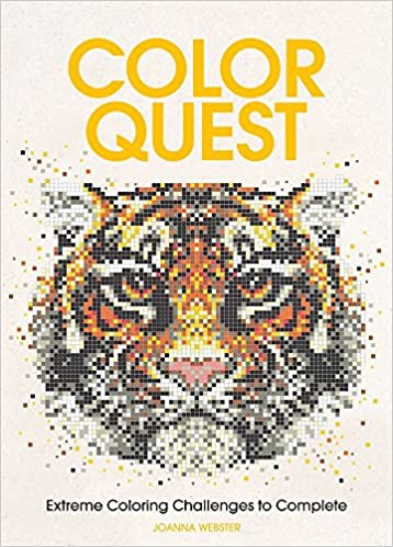 Amazon Com Color Quest Extreme Coloring Challenges To Complete