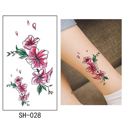 adgkitb 5 Piezas Tatuaje Temporal Pegatina pájaro Tatuaje ...