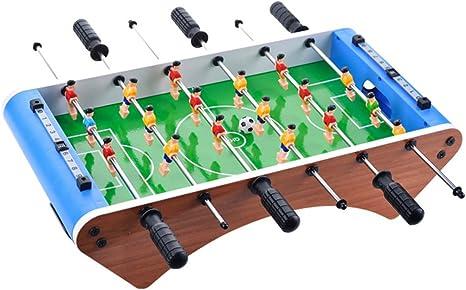 6 Barras De Fútbol De Mesa, 2 Personas De Escritorio De Fútbol Juegos De Juguete, Tabla