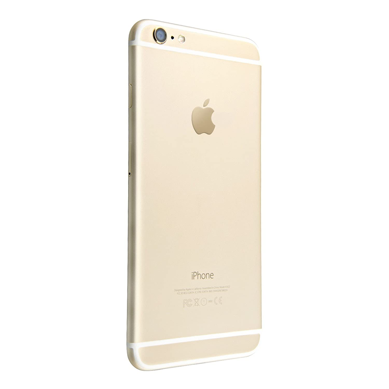 Apple Iphone 6 Plus Gsm Unlocked 64gb Gold Refrubish Free Tempered Glass Refurbished Cell Phones Accessories