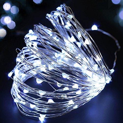 Cool White LED Christmas Lights: Amazon.com