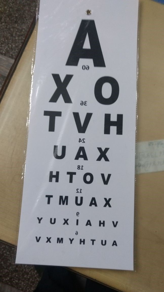 Labgo optometric eye chart 000001 amazon industrial scientific ccuart Gallery