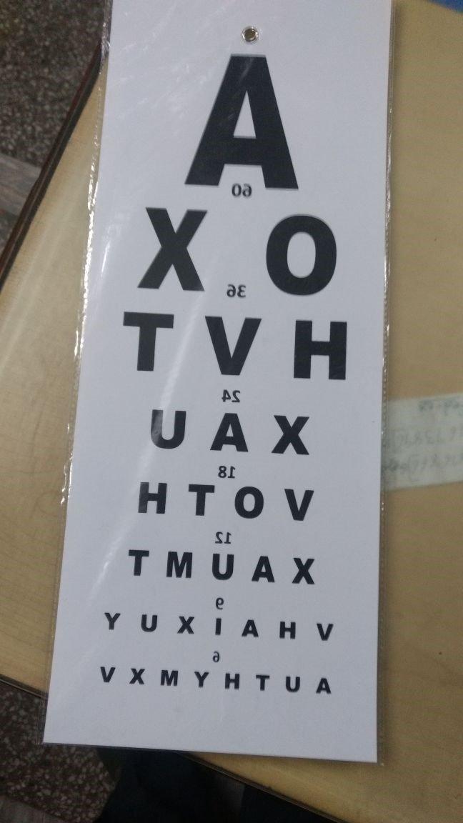 Labgo optometric eye chart 000005 amazon industrial scientific ccuart Gallery