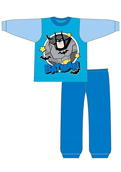PJ Masks, Paw Patrol - Pijama Dos Piezas - para niño DC Superfriends Blue Edad