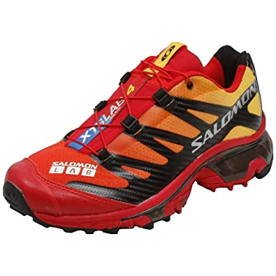buy popular 41215 476d1 Salomon XT Wings S-Lab 4 Men s Softground 128659 Impact Yellow Color Bright  Red  Amazon.co.uk  Shoes   Bags
