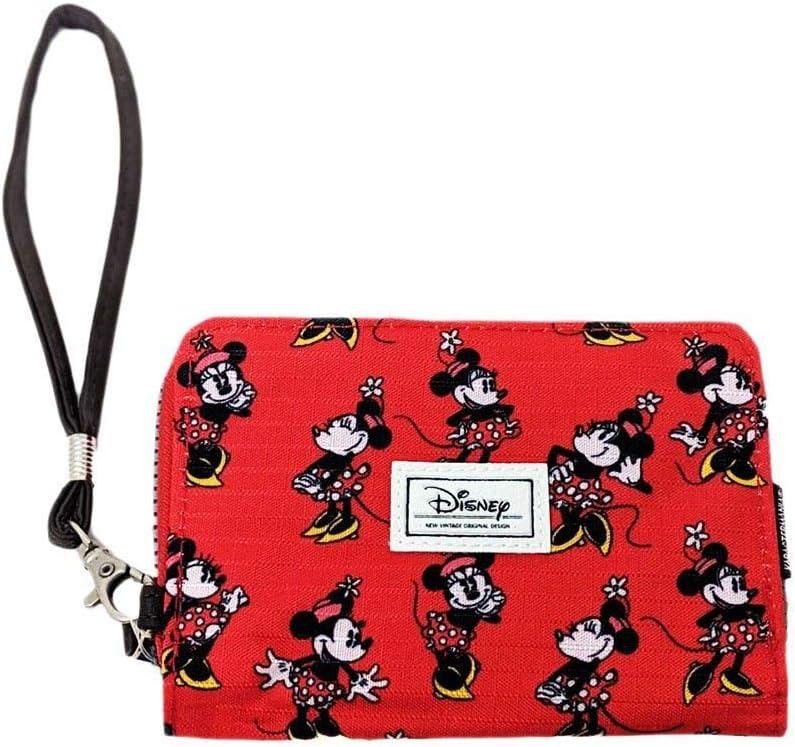 Karactermania Disney Classic Minnie Cheerful Monederos, 16 cm, Rojo