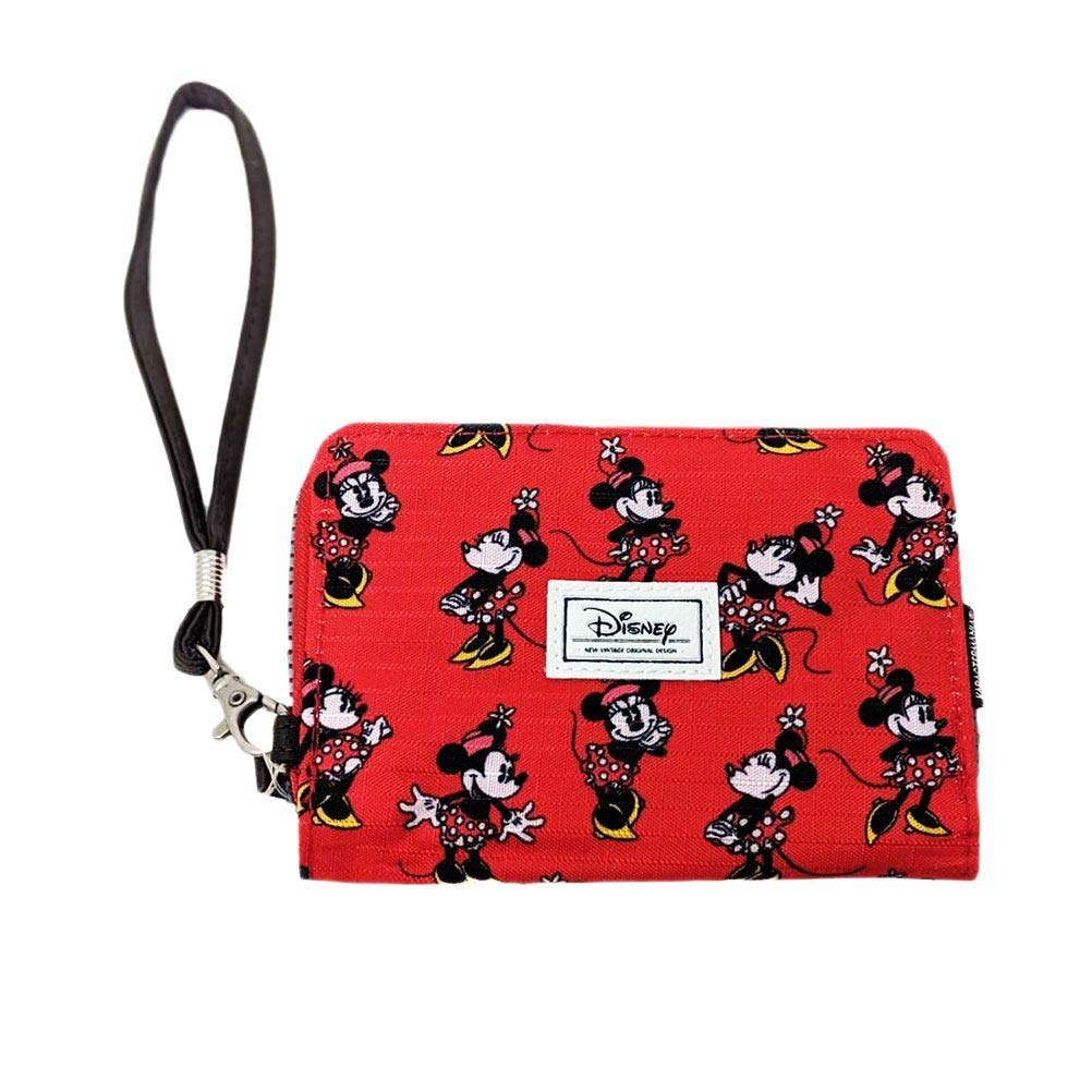 Karactermania Disney Classic Minnie Cheerful Monederos, 16 cm, Rojo