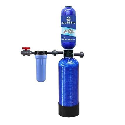 aquasana 3-year, 300, 000 gallon whole house water filter - - .com
