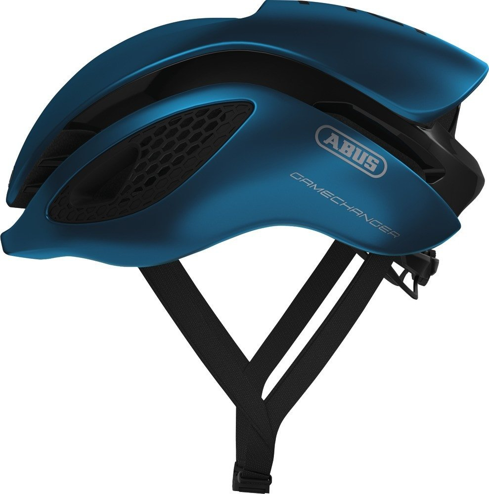 ABUS(アブス) GameChanger サイクリング ヘルメット - Steel Blue (スチール ブルー) [並行輸入品] Medium  B0772QDN6P