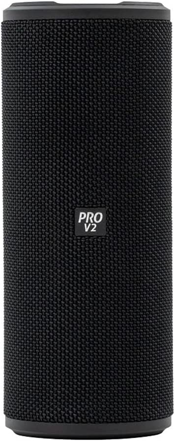 VisionTek SoundTube Pro Wireless Bluetooth Speaker – IPX7 Waterproof Rating, Bluetooth 4.2, NFC Support, 7+ Hour Playtime, Built-in Mic, TWS Support, Compatible with Phone/Tablet/TV/Laptop (901317)