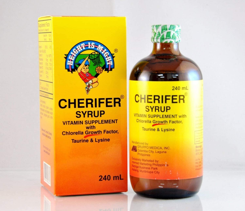 Amazon Com Cherifer Syrup With Chlorella Growth Factor Taurine Lysine 240ml Health Personal Care