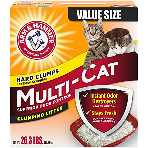 Arm Hammer Multi Cat Litter Packaging product image
