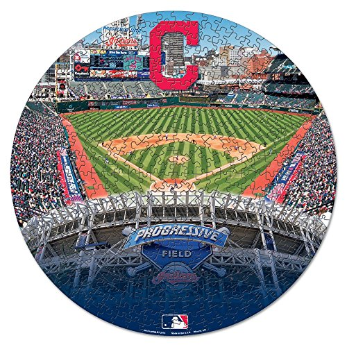 MLB Cleveland Indians Puzzle in Box (500 (Cleveland Indians Puzzle)