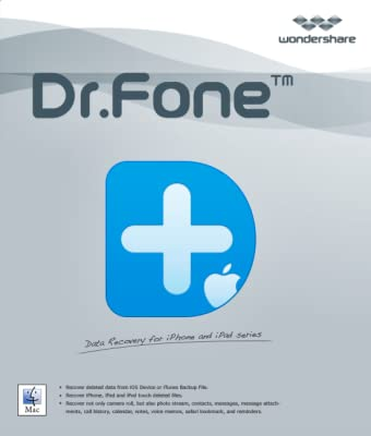 Wondershare Dr.Fone for iOS (Mac) - Device Backup & Export [Download]