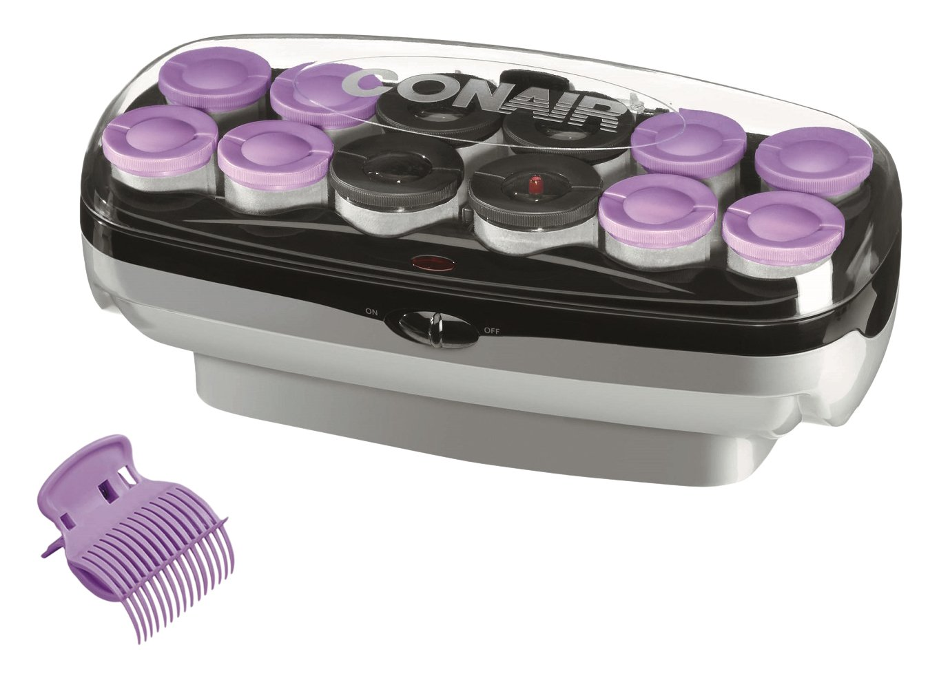 Conair Xtreme Instant Heat Jumbo And Super Jumbo Hot Rollers; Bonus Super Clips Included - Amazon Exclusive