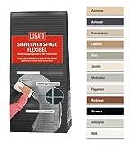 Lugato Sicherheitsfuge Flexibel 1 kg anthrazit - Fugenmörtel