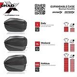 SHAD D0B59100 Expandable Top Case SH59X, Aluminium, Normal
