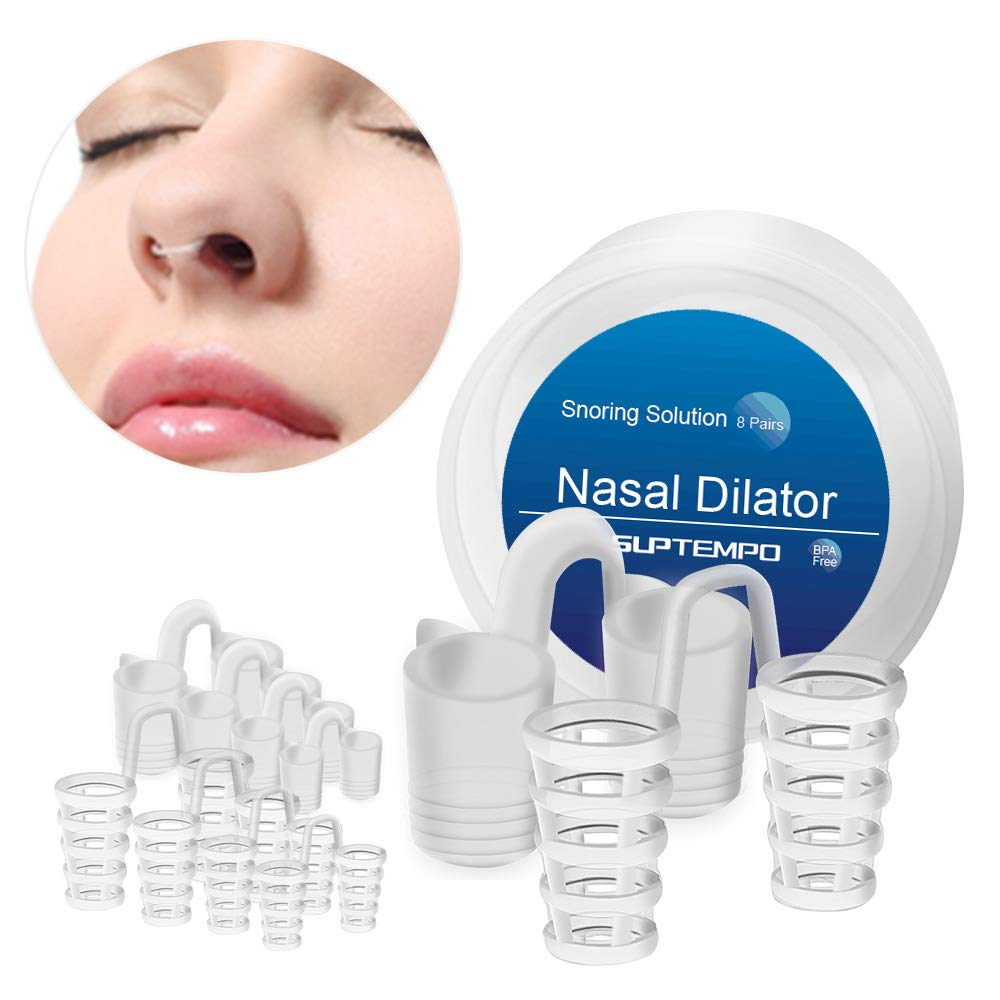 Snoring Solution-Anti Snoring Devices for Peace and Mind ! Medical Grade Nasal DilatorsI -Instanly Started Up to 50% Airflow