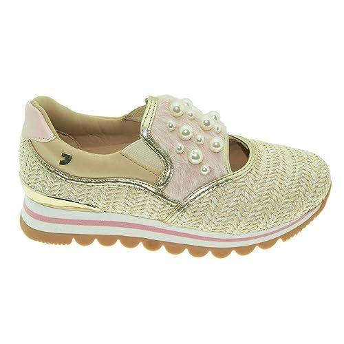 Gioseppo Sneakers Mujer Detalles de Pelo y Perlas, 43310, (39)