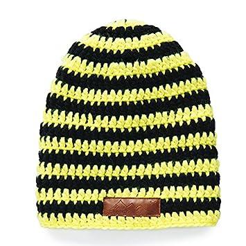 Après Ski Beanie Neon Yellow  Amazon.co.uk  Sports   Outdoors 5e301fd521a