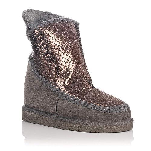 0cac7801d0216 Gioseppo - Botas Australianas con Cuña Interna Cobre  Amazon.es  Zapatos y  complementos