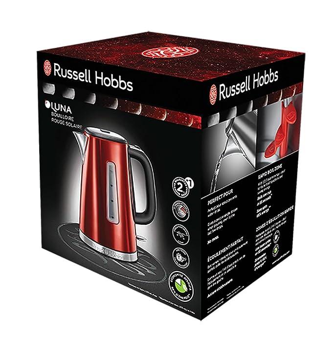 Russell Hobbs 23210-70 Hervidor, 2400 W, 1.7 litros, Gris, Acero Inoxidable: Amazon.es: Hogar
