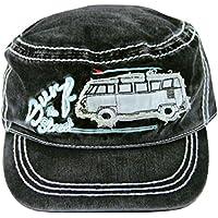 VW Collection by BRISA T1 Vintage Cap Black