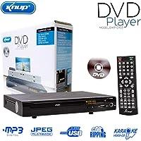 DVD Player Com Entrada USB + Karaoke + Controle - Kp-d103 Knup