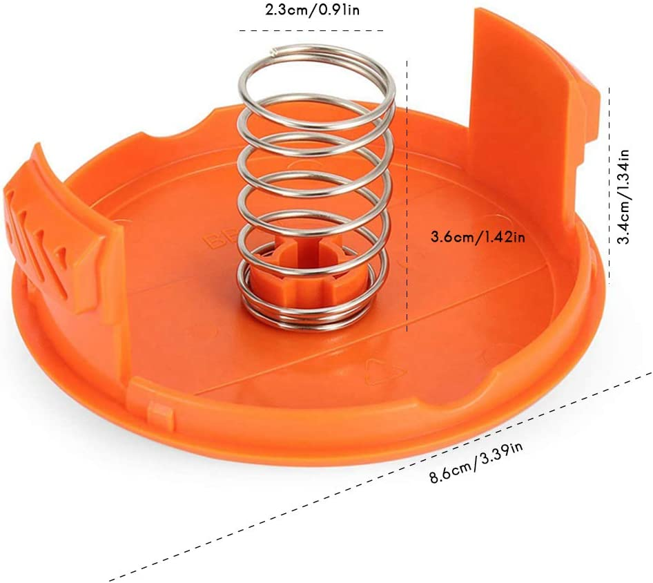 Capsule e Molle di Ricambio Accessori compatibili con i decespugliatori per AFS Surenhap