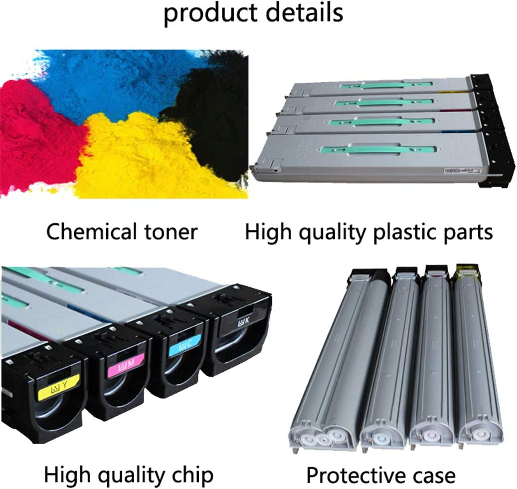 SONGSS Compatible Samsung CLT-K806S Toner Cartridge for X7400GX 7500LX X7600LX Laser Printer Cartridge 4 Colors Optional,Blue