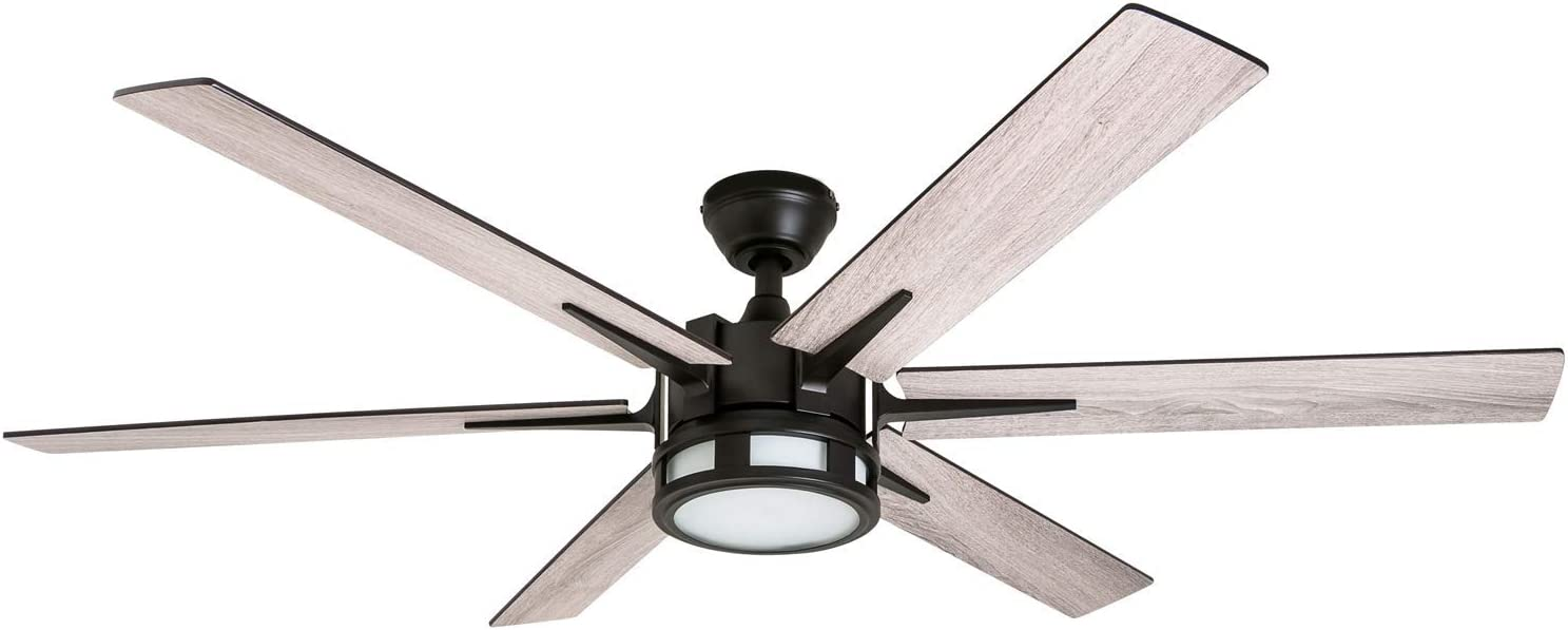 "Honeywell 51036 Kaliza Modern Ceiling Fan with Remote Control, 56"", Espresso"