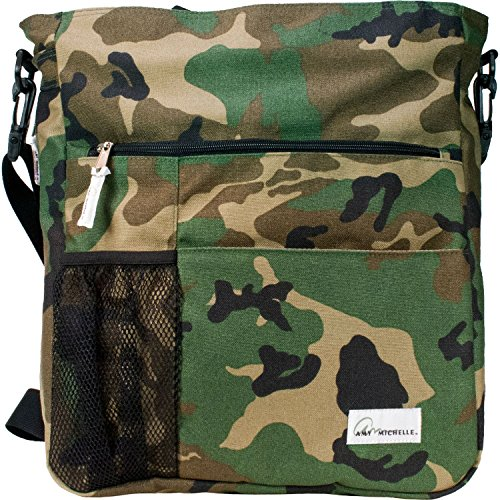 Amy Michelle Lexington Diaper Bag, Camo Lexington Diaper Bag