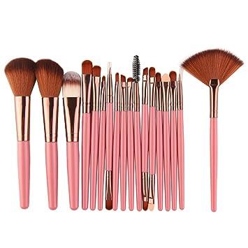 Qewmsg 18 piezas MAANGE Set de herramientas de maquillaje ...