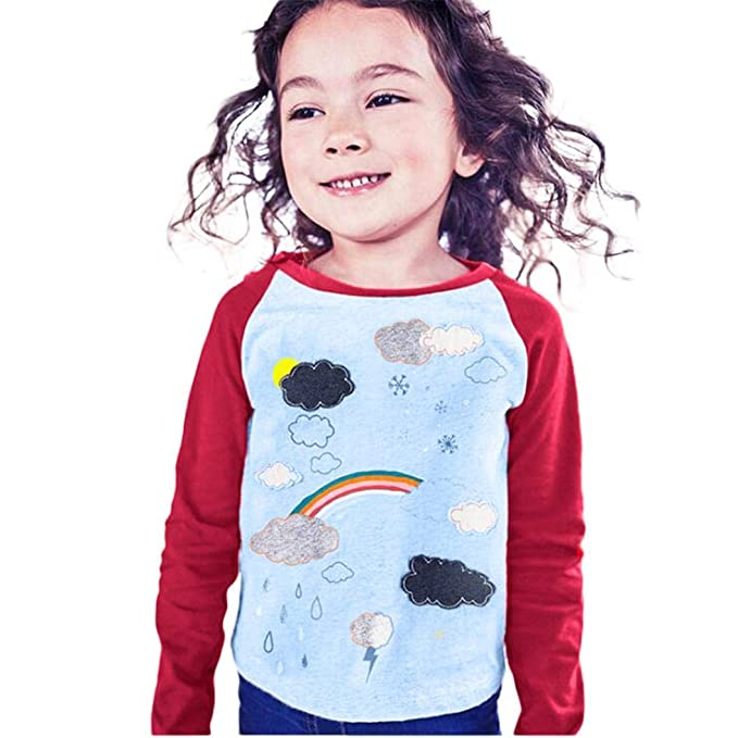 Toddller Baby Girls Boys Letter Print T-Shirt Top Long Sleeve Sweater Fall Winter Clothes