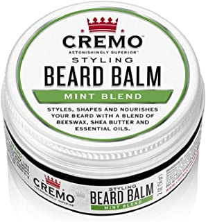 product image for Cremo Mint Blend Styling Beard Balm, Nourishes, Shapes And Styles Longer, Fuller Beards, 2 Oz